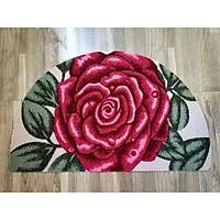 Thảm bán nguyệt hoa văn trang trí  đẹp (giao hoạ tiết ngẫu nhiên)