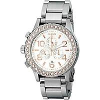 Nixon Men's 42-20 Chronograph Watch with Link Bracelet