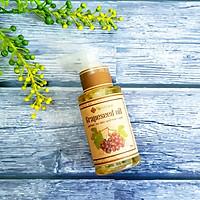 Dầu hạt nho chống lão hóa, không nhờn, dưỡng ẩm, mềm mịn da Ecolife - Grape Seed Oil 75ml