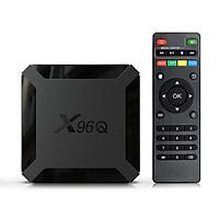 X96Q TV Box Android 10.0 Allwinner H313 Quad Core ARM Cortex A53 TV Set Top Box Support 4K 3D Media Player