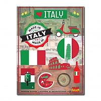 Hình dán cao cấp - Premium Sticker - Italy