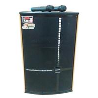 Loa kẹo kéo karaoke bluetooth di động Temeisheng QX 1519 - Hàng nhập khẩu