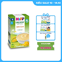Bột ăn dặm dinh dưỡng Ngũ cốc bắp non HiPP Organic 200g
