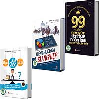 Combo 3 Cuốn: 99 Điều Từ Trí Tuệ Nhân Loại + Bạn Làm Việc Vì Ai + Hiện Thực Hóa Sự Nghiệp