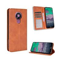Bao da dành cho Nokia 3.4 Flip Wallet Leather dạng ví đa năng siêu bền siêu êm
