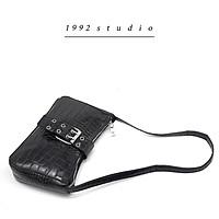 Túi xách nữ 1992 s t u d i o / LILY BAG / màu đen kẹp nách