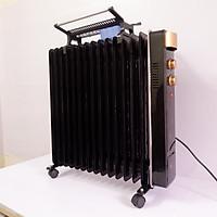 Máy sưởi 15 thanh T15-1000  thiết bị sưởi ấm gia đình. Làm ấm nhanh - Tiết kiệm điện + Tặng kèm 1 bật lửa
