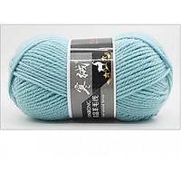 Len lông cừu nhập khẩu cao cấp - Len đan khăn