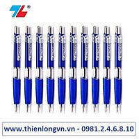 Hộp 10 cây bút bi  0.7mm Thiên Long - TL047 màu xanh