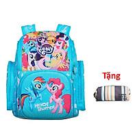 Balo Học Sinh Clever Hippo Fancy My Little Pony Cô Nàng Cá Tính BP1204 (Tặng hộp bút Super)