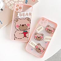 Ốp Lưng iPhone Viền Chống Va Đập Shy Bear Dành Cho iPhone 6 / 6 Plus / 7 / 7 Plus / 8 / 8 Plus / X / Xs / Xs Max / 11 / 11 Pro / 11 Pro Max / 12 / 12 Pro / 12 Pro Max