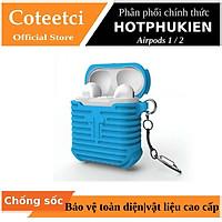 Bao case silicon màu cho tai nghe Apple Airpods 1 / 2 hiệu Coteetci (siêu chống sốc và chống va đập) - Hàng chính hãng