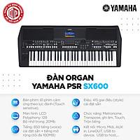 Đàn Organ Yamaha PSR SX600 - Màu đen - Hàng chính hãng