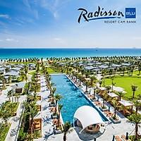 Radisson Blu Resort 5* Cam Ranh Nha Trang - Gói 03 Bữa Ăn, Phòng Hướng Biển, Hồ Bơi Lớn, Ngay Bãi Dài Cực Đẹp