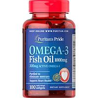 Thực phẩm bảo vệ sức khỏe OMEGA-3 FISH OIL 1000MG