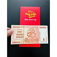 Tờ tiền Zimbabwe 50 Tỷ Dollar siêu lạm phát, tiền xưa sưu tầm - The Merrick Mint
