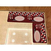 Bộ 2 thảm bếp cao cấp hình thìa dĩa
