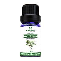 Tinh dầu lộc đề xanh Lorganic Wintergreen 10ml