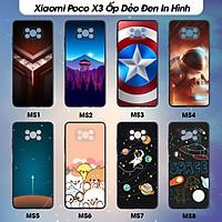 Ốp lưng Dẻo dành cho điện thoại Xiaomi Poco X3- Poco X3 NFC In Hình Case  Phần 1- Hàng Chính Hãng
