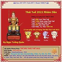 Thẻ Bài Thái Tuế năm 2022 hóa giải vận hạn Thái Tuế cho tuổi Dần, Thân, Tỵ, Hợi