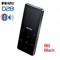 RUIZU D28 Built-in Speaker Bluetooth MP3 Player Music Player 8G Portable Walkman Support Recorder E-Book Clock Pedometer Functions Audio Players