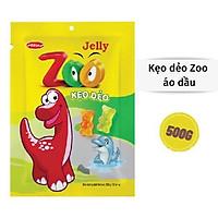 Kẹo dẻo Zoo Bibica áo dầu túi 500g