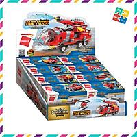 Đồ Chơi Xếp Hình Thông Minh Lego Qman 1805 Xe Ô Tô Cứu Hỏa 313 Mảnh Ghép 8 Trong 1 Cho Trẻ Từ 6 Tuổi