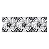 Bộ 3 Quạt Tản Nhiệt Thermaltake Riing Trio 12 LED RGB (3-Fan Pack) CL-F072-PL12SW-A - Hàng Chính Hãng