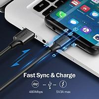 Cáp chuyển đổi USB 2.0 to USB Type C dài 0,5m Ugreen 60115 - Hàng chính hãng
