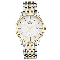 Đồng hồ nam SG1073.1202TE trắng có kiểu dáng sang trọng, trẻ trung với mặt đồng hồ tròn