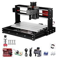 2-Inch Mini Drill Press Vise + Upgrade Version CNC 3018 Pro GRBL Control DIY Mini CNC Machine 3 Axis Pcb Milling Machine