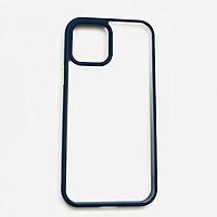 Ốp lưng dành cho iPhone 13 Pro Max thương hiệu Rock viền màu trong suốt (Không ố màu) - Hàng nhập khẩu