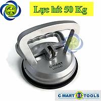 Tay hít kính - gạch 1 chấu C-Mart L0072-1 (50kg)