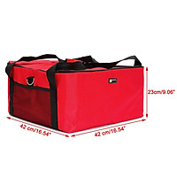 Insulated Thermal Pizza Food Pizza Delivery Bag 42*42*23cm