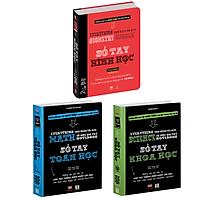 Sổ tay toán học, Sổ tay hình học, sổ tay khoa học - Big Fat Notebooks ( Bộ 3 cuốn, tiếng việt )