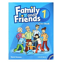 Family And Friends (Bre) (1 Ed.) 1: Class Book And Multirom Pack