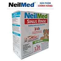 Gói Hỗn Hợp Muối Rửa Mũi Xoang Trẻ Em NeilMed SinusRinse Kids Sachets  (Hộp 120 gói)- Xuất xứ Mỹ