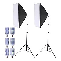 Bộ Kit Studio 2 Đèn 3 Bóng LED360 40W