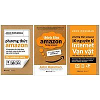 Combo 3 sách kĩ năng: Tư duy Amazon + Phương Thức Amazon - 10 nguyên lý Internet Vạn vật + Phương Thức Amazon
