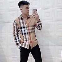 Áo sơ mi kẻ sọc thời trang nam, size áo từ 50-75 kg ,áo sơ mi nam cao cấp phong cách nam tính 3 màu, dáng áo ôm nhẹ trẻ trung, chất vải thô dày dặn mềm mịn, không bị bai xù