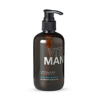 Gel Làm Sạch Mặt Và Toàn Thân Vitaman Grooming Face & Body Cleanser 250ml