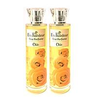 Combo 2 Chai Nước Hoa Toàn thân Enchanteur Fine Pefume Chic 100ml*2 (Chai Vàng)