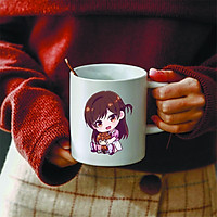 Ly cốc sứ in hình Kanojo, Okarishimatsu - Dịch Vụ Thuê Bạn Gái anime chibi