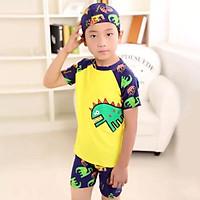 Bộ bơi bé trai có mũ