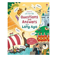Usborne Lift-the-flap Questions and Answers about Long Ago