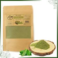 Bột Trà Xanh hữu cơ UMIHOME (35g) nguyên chất bột đắp mặt, tắm trắng, dưỡng trắng da loại bỏ mụn hiệu quả