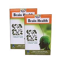 Hai hộp thực phẩm Brain Health bổ sung dinh dưỡng cho người lớn