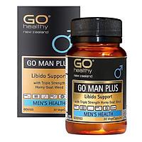 Thực Phẩm Chức Năng GO Man Plus - Cải Thiện Và Làm Chậm Quá Trình Mãn Dục Nam