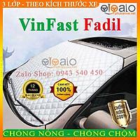 Bạt Phủ Ô Tô VinFast Fadil Cao Cấp 3 Lớp Chống Nắng Nóng Chống Nước Chống xước   OTOALO