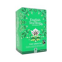 TRÀ ORGANIC GREEN TEA HIỆU ENGLISH TEA SHOP 400G